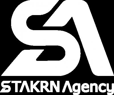 STAKRN Agency logo white